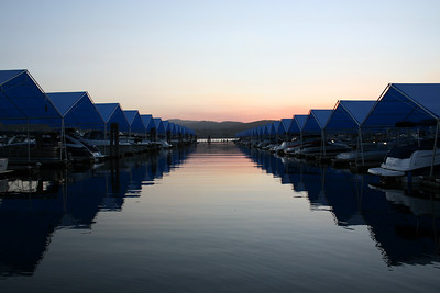 Lake Coeur d' Alene at Sunset