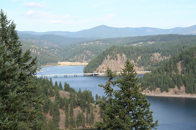 Beauty Bay. Lake Coeur d' Alene