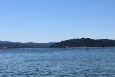 July 2014 Lake Coeur d' Alene