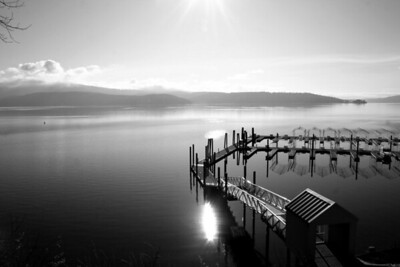 Black & White lake 1