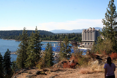 View of Coeur d' Alene Resort from Tubbs Hill. Sept 2010