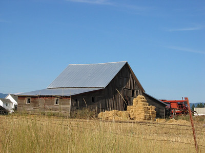 This barn is down the road from our house